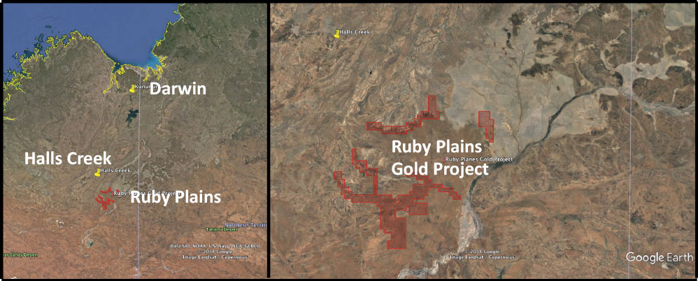 Ruby Plains Placer Gold – Dampier Gold